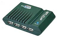 stlab usb hub 4 ports with power _u181