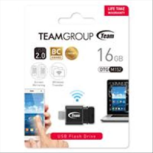 Team usb 2.0 flash drive otg 16gb micro usb wifi transfer m152 _tm15216gb01