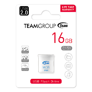 Team usb 2.0 flash drive 32gb white c161 _tc16132gw01