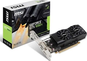 Msi Geforce GTX1050ti 4gb gddr5 low profile dvi hdmi dp _912-v809-2405