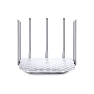 Tplink wireless router dual band  ac1350 5anntena  _archerc60