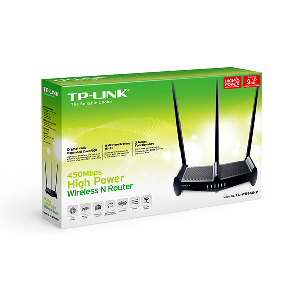 Tplink 450mbps wr941hp wireless N router high power 9dbi _tl-wr941hp